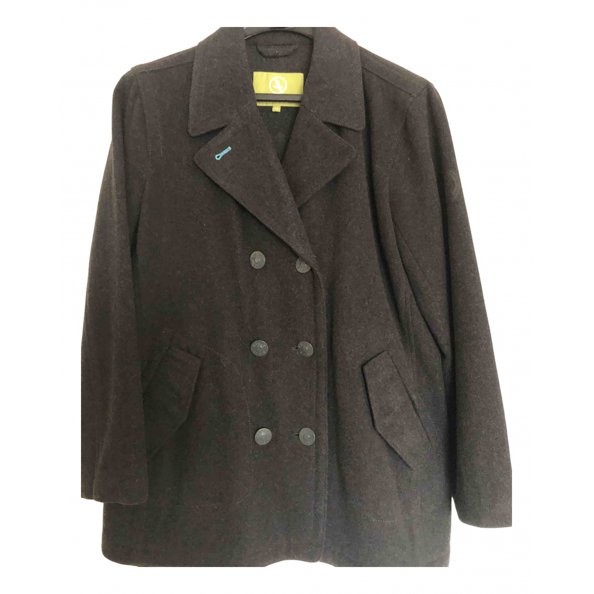Aigle N Khaki Wool jacket for Women 40 FR