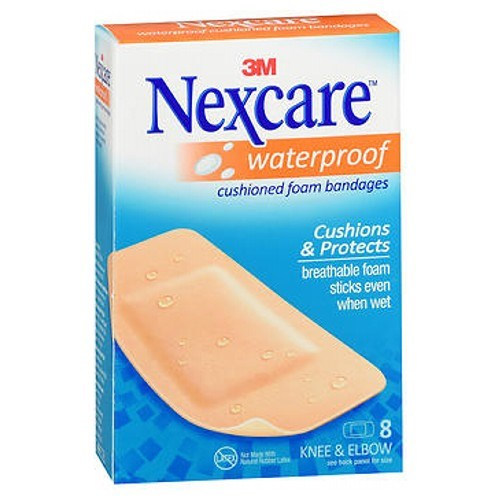Nexcare Bandages Active Extra Cushion Knee And Elbow 8 each by Nexcare