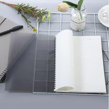 1pack Plain Cover Spiral Notebook