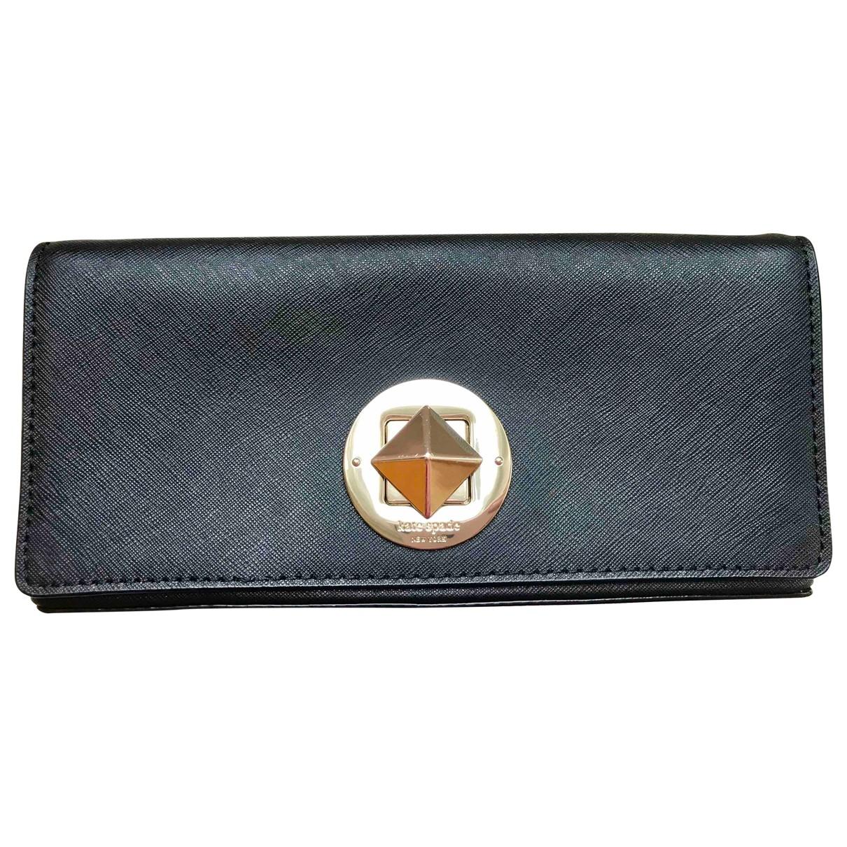 Kate Spade \N Black Leather Clutch bag for Women \N