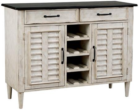Ann Lee Collection CM3754SV Server in Antique White