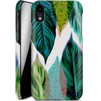 Apple iPhone XR Smartphone Huelle - Green Leaves von Mareike Bohmer