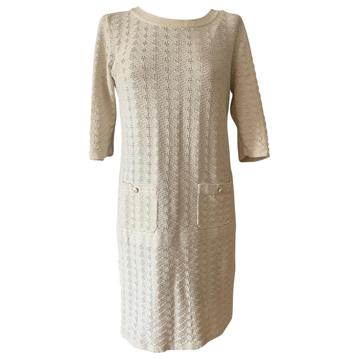 Chanel \N Kleid in  Beige Baumwolle