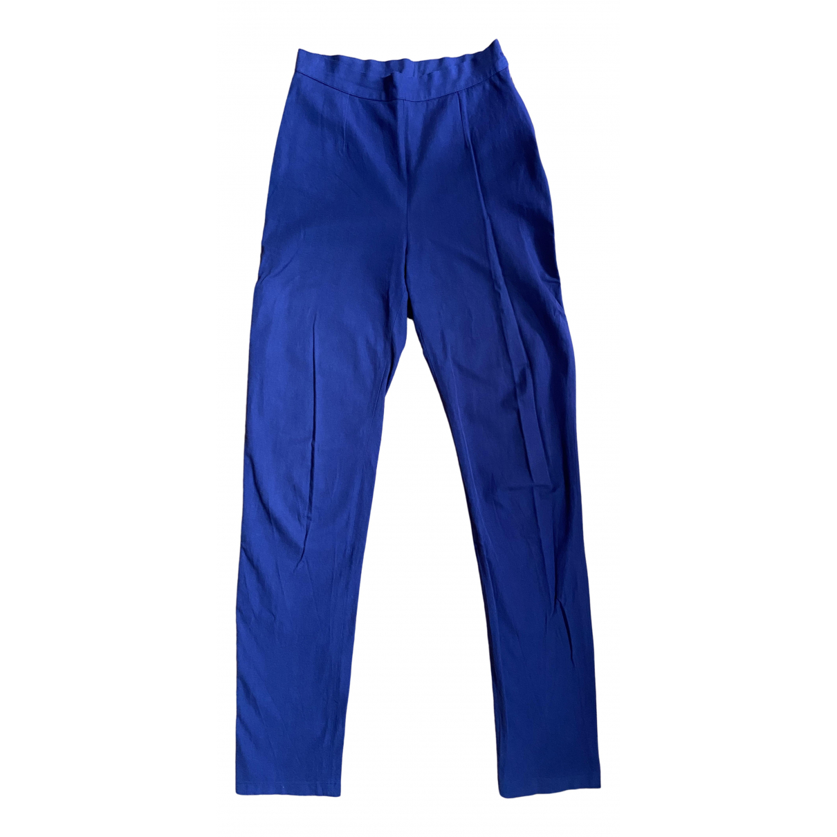 Isabel Marant N Purple Cotton Trousers for Women 1 0-5
