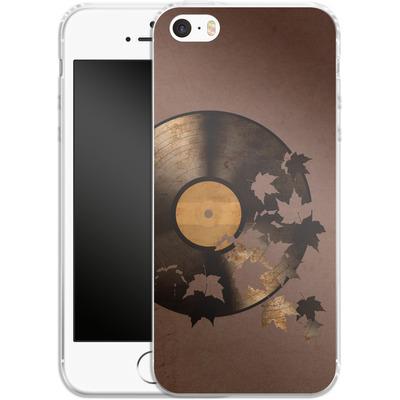 Apple iPhone 5 Silikon Handyhuelle - Autumn Song von Terry Fan
