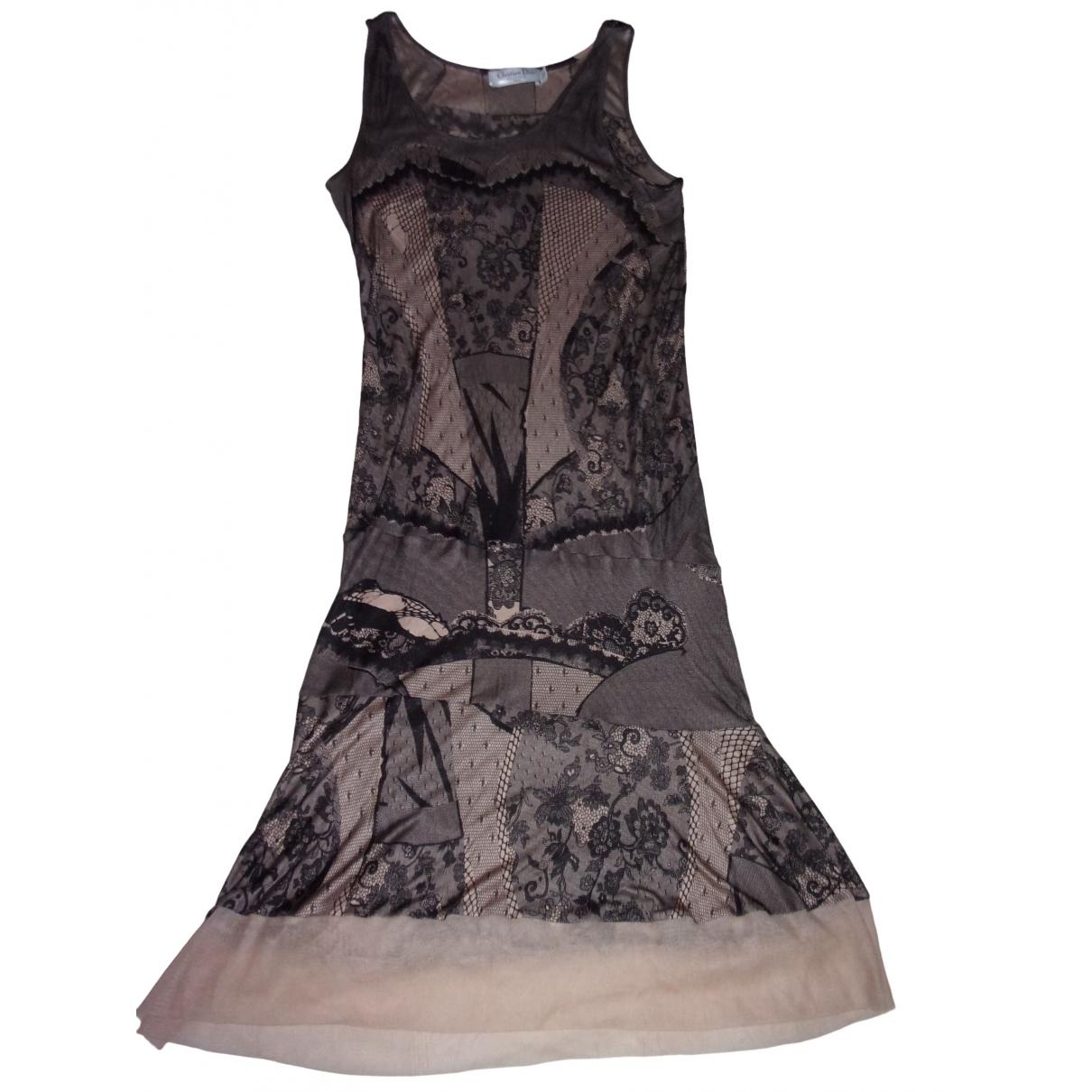 Vestido midi de Seda Dior