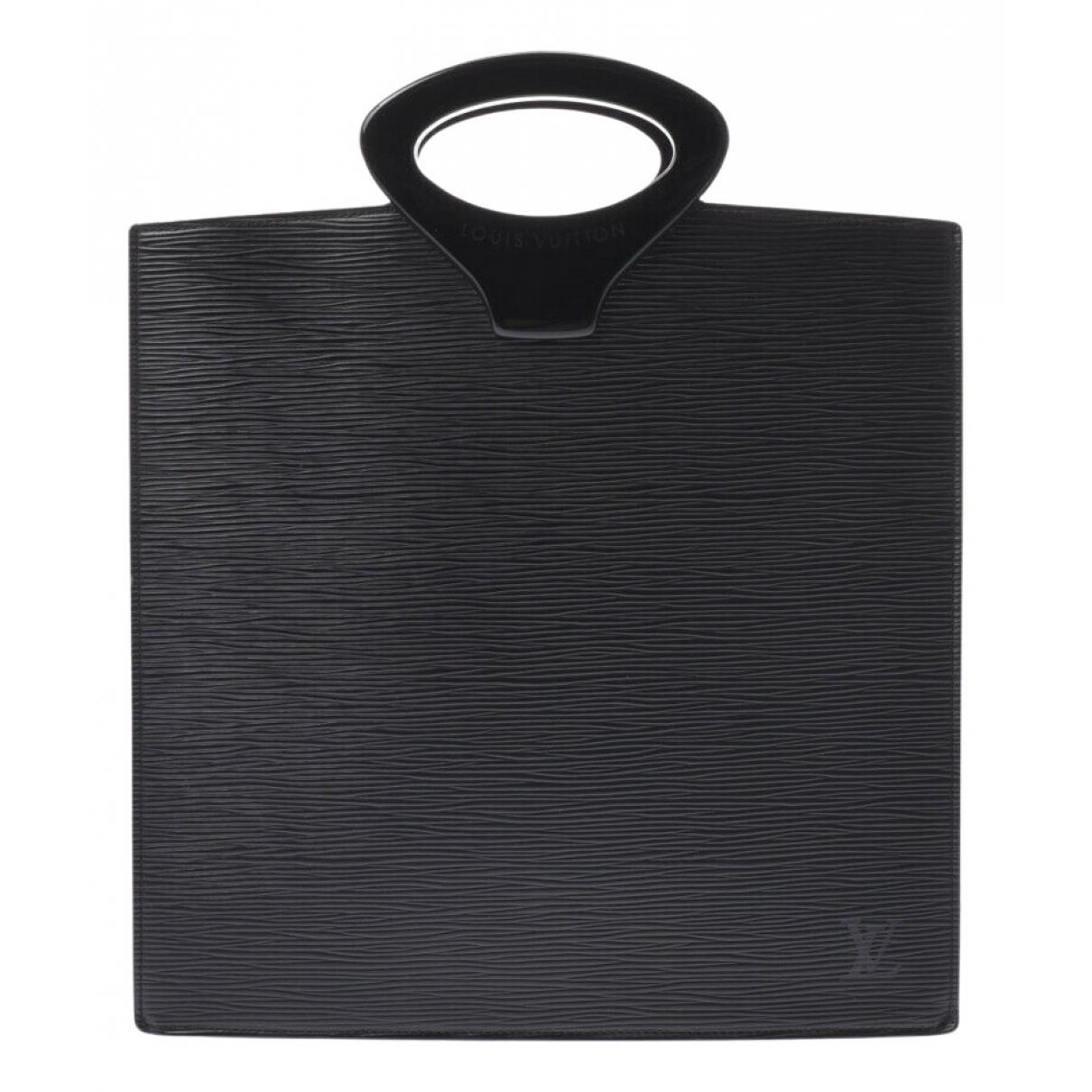 Louis Vuitton Ombre  Handtasche in  Schwarz Leder