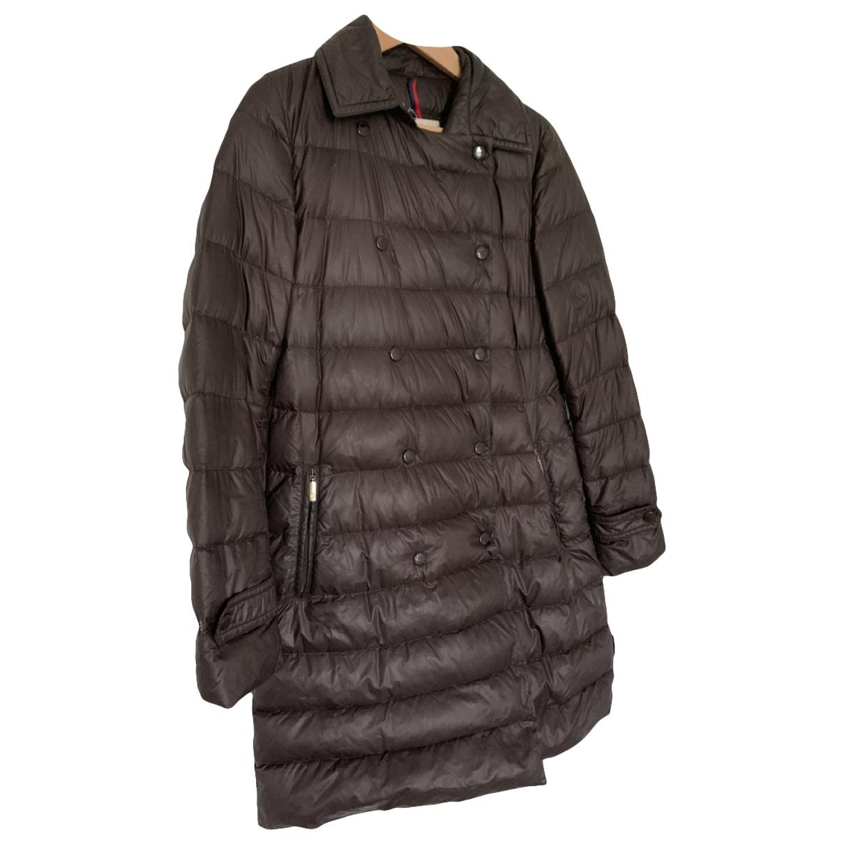Moncler - Manteau Long pour femme - marron