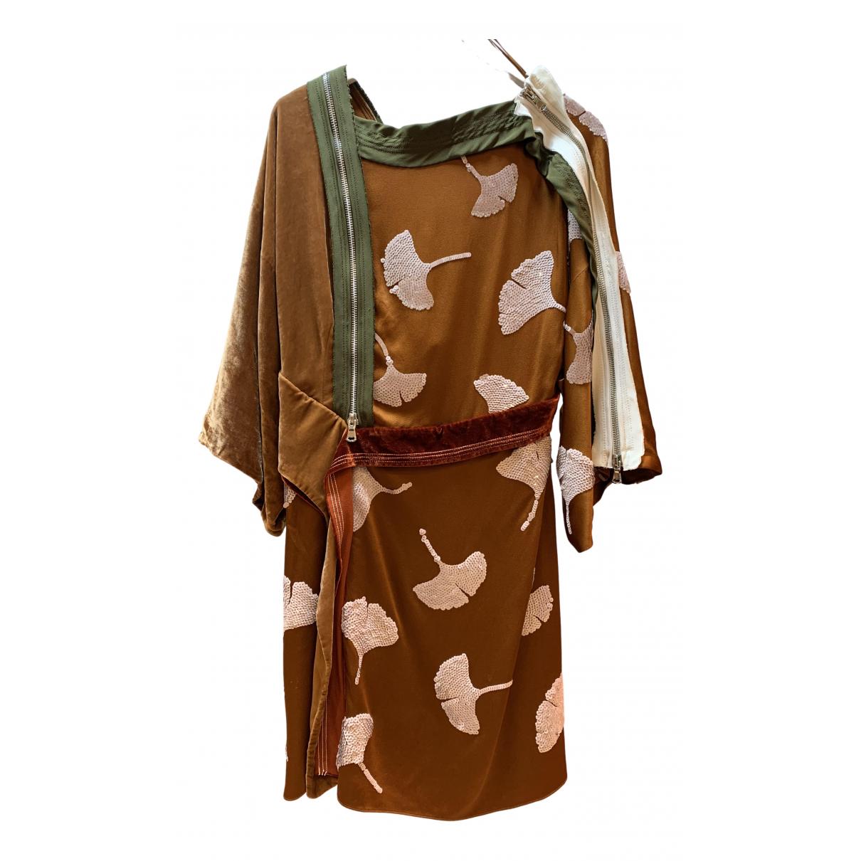3.1 Phillip Lim \N Kleid in  Braun Viskose