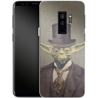 Samsung Galaxy S9 Plus Silikon Handyhuelle - Sir Yodington von Terry Fan
