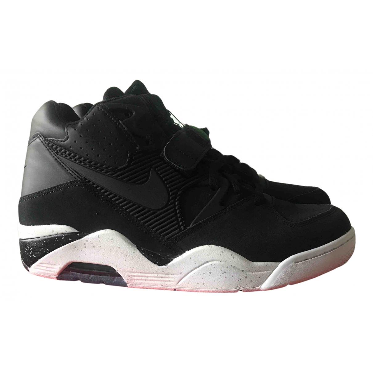 Nike Air Max 180  Sneakers in  Schwarz Leder