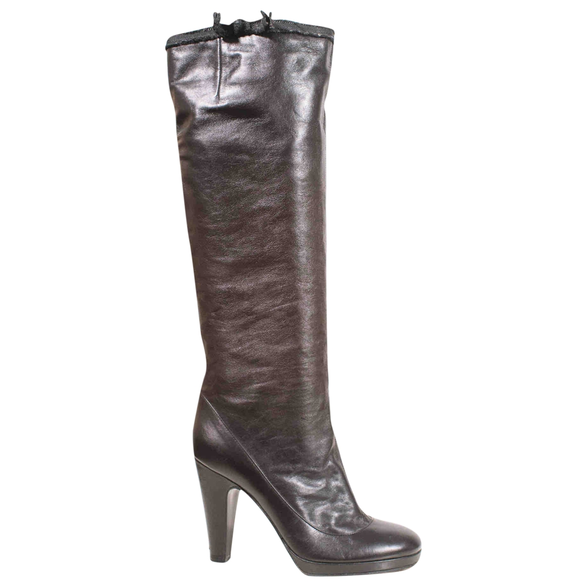 Marc Jacobs \N Black Leather Boots for Women 38 EU