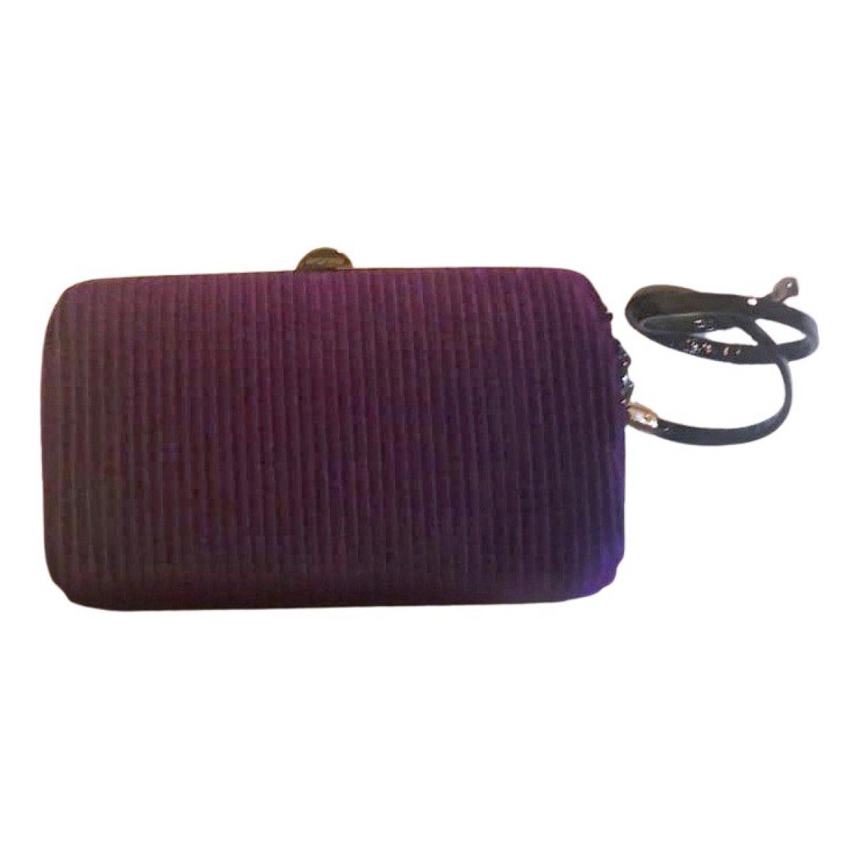 Sergio Rossi N Purple Clutch bag for Women N