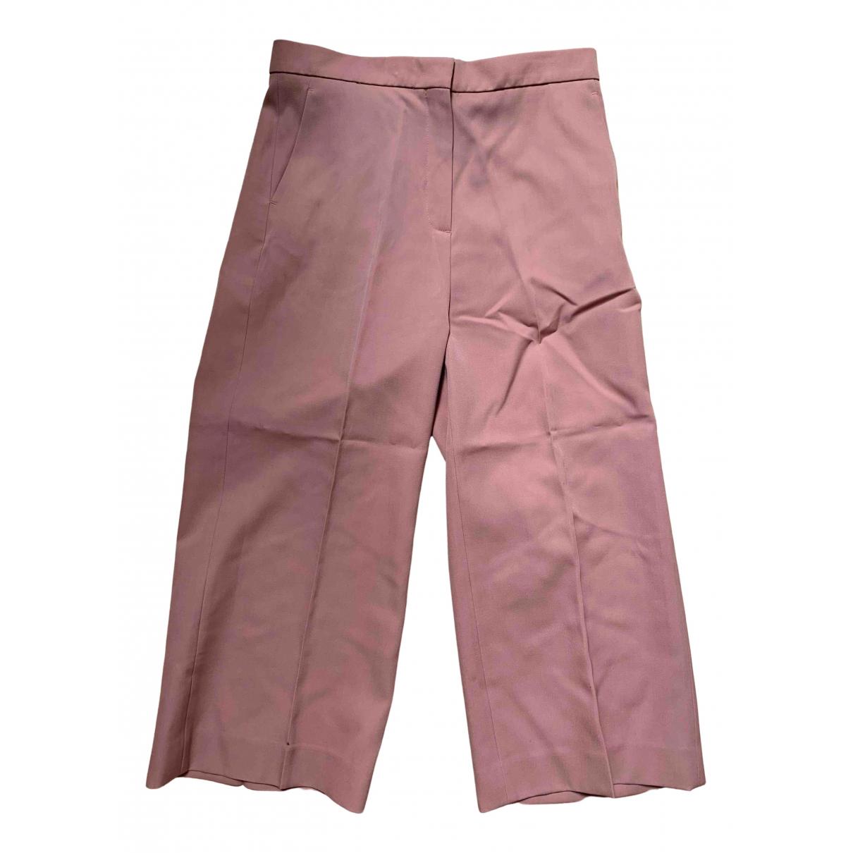 Pantalon recto de Lana Rochas