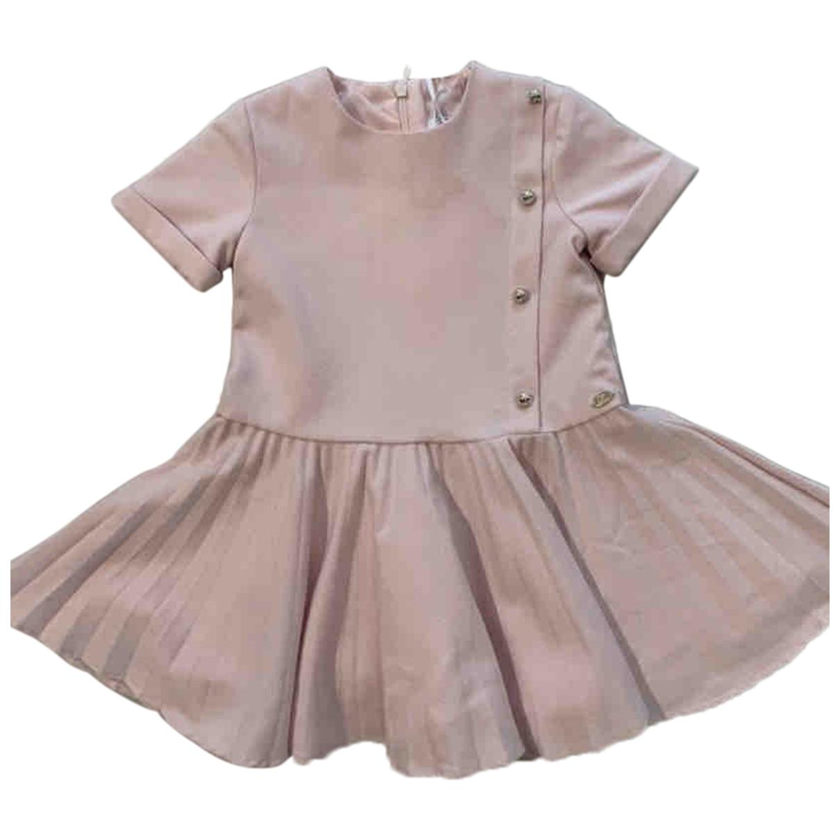 Tartine Et Chocolat - Robe    pour enfant en coton - rose