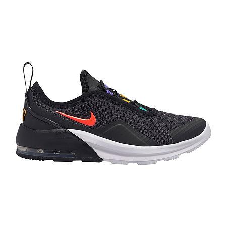 Nike Air Max Motion 2 Little Kids Girls Running Shoes Little Kids Girls Running Shoes, 12 Medium, Black