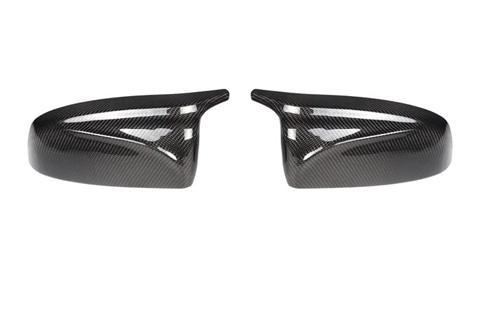 AutoTecknic M-Inspired Carbon Fiber Mirror Covers BMW E70 X5 E71 X6 2007-2014