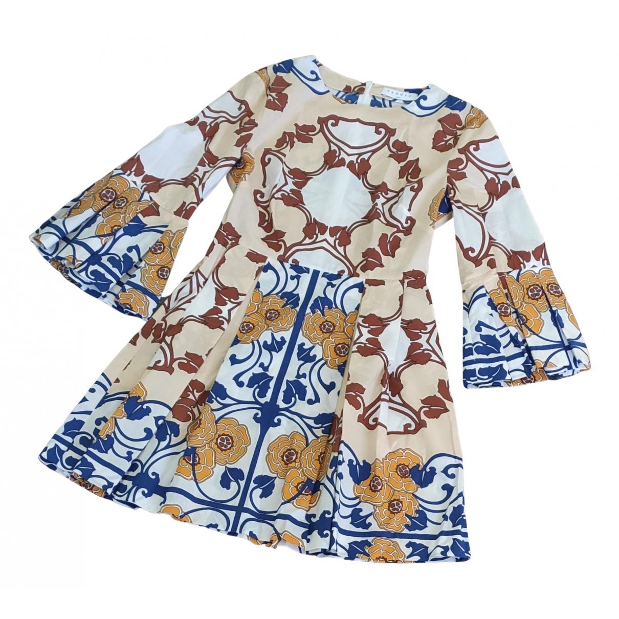 Sandro N Beige Cotton dress for Women 1 0-5