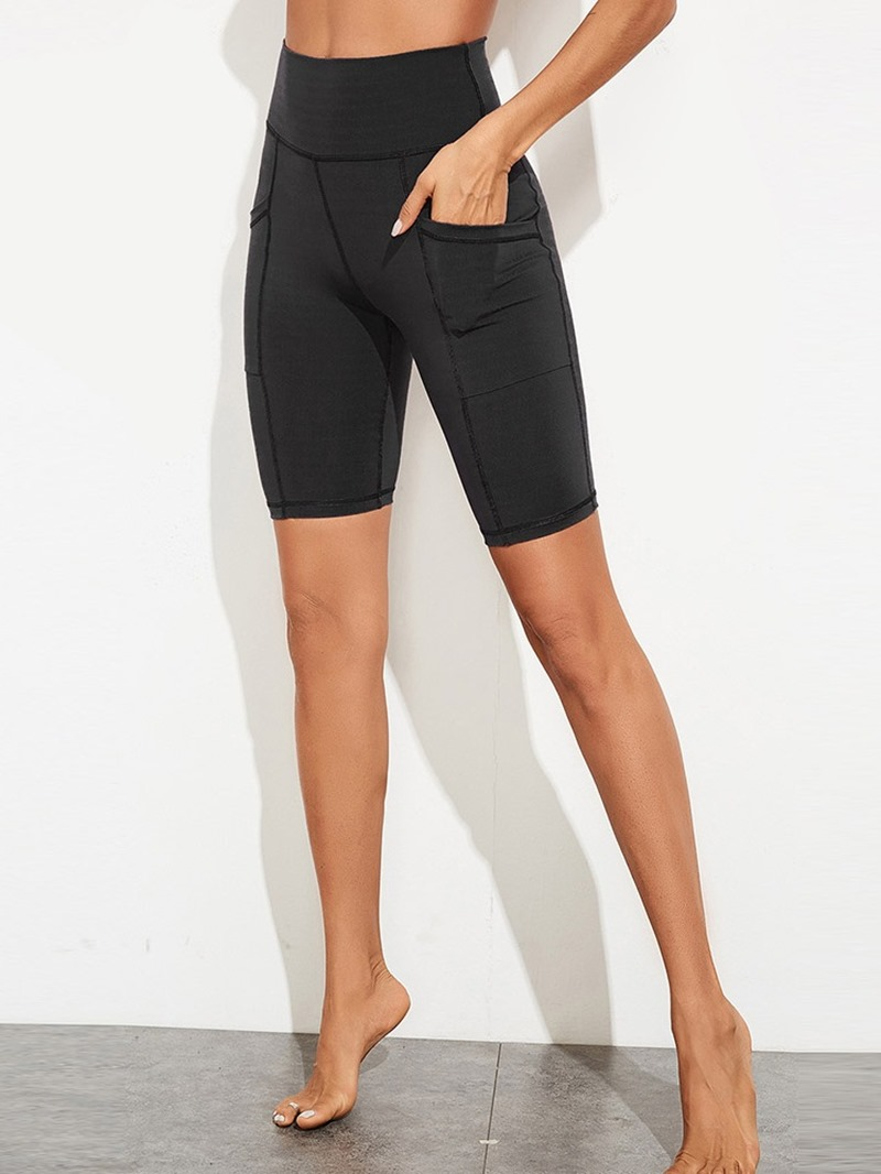 Ericdress Pockets Solid Polyester Anti-Sweat Female Spring Pants