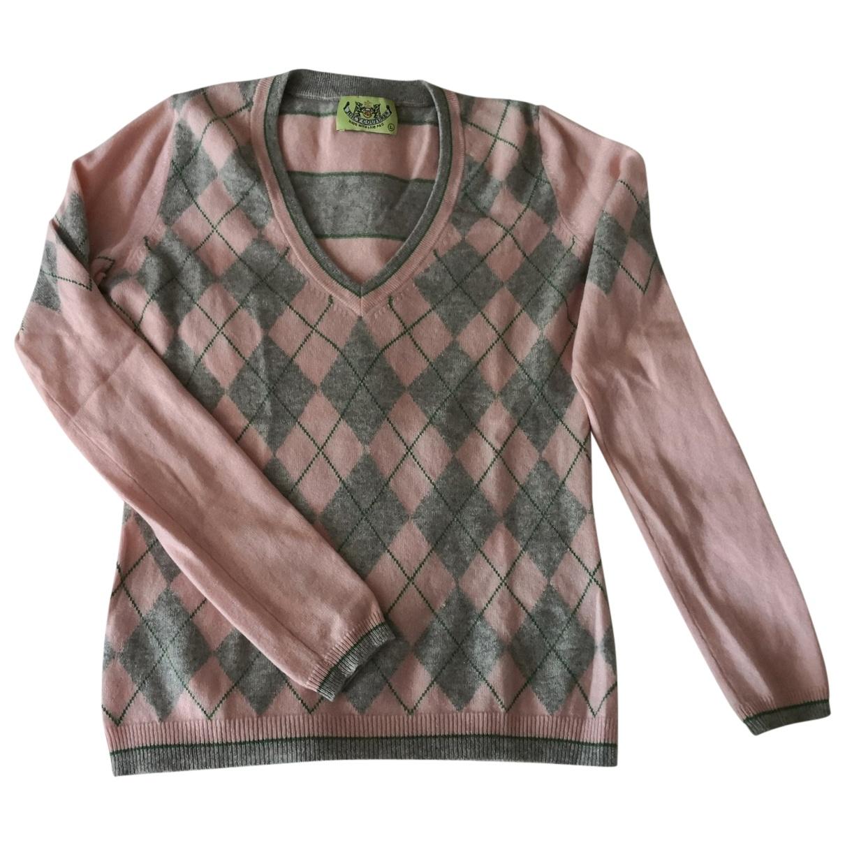 Juicy Couture - Pull   pour femme en cachemire - rose