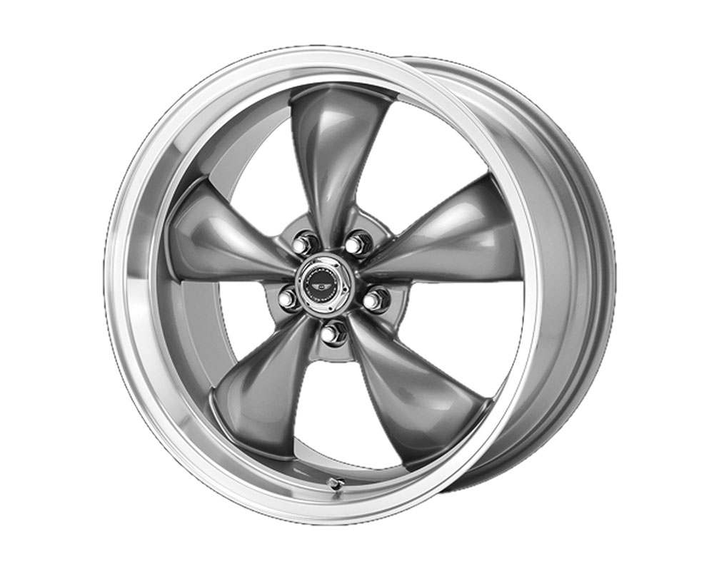 American Racing AR105 Torq Thrust M Wheel 16x7 5x5x110 +35mm Anthracite Machined Lip