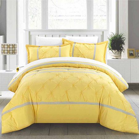 Vermont 12 Piece Comforter Set, One Size , Yellow