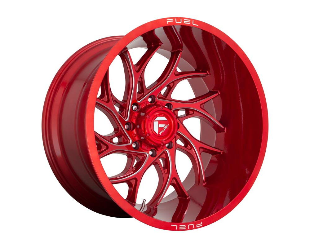 Fuel D742 Runner Wheel 22x12 6x5.5 -44 Candy Red Milled