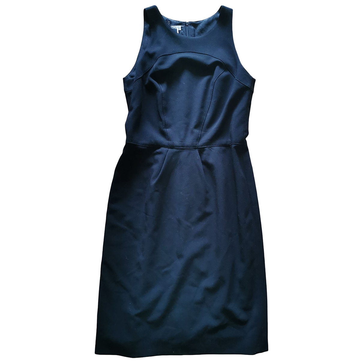 Oscar De La Renta \N Black Wool dress for Women 10 US