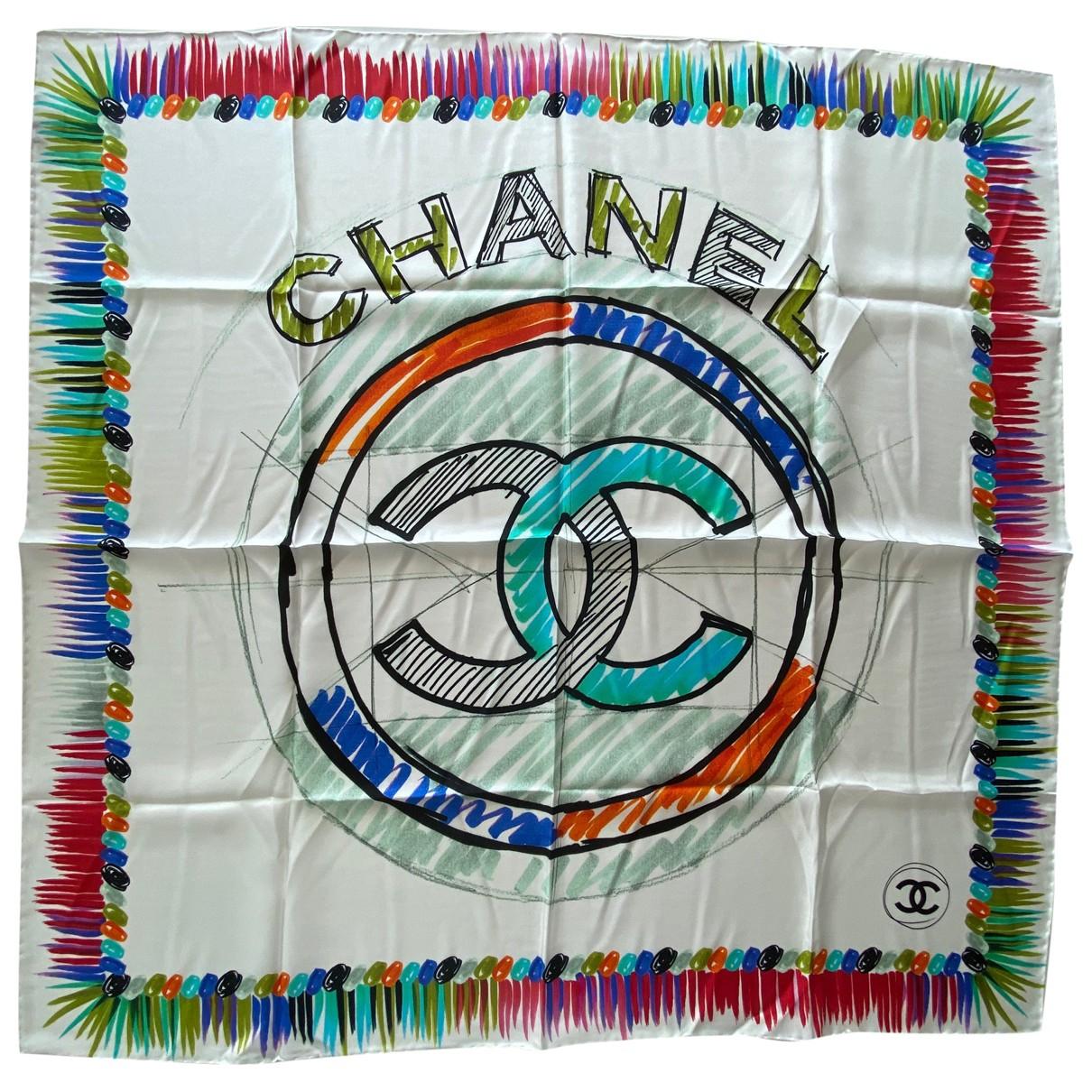 Chanel \N Tuecher in  Bunt Seide