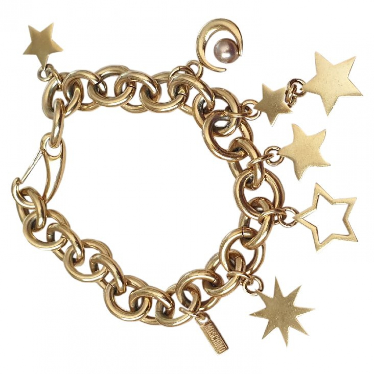 Moschino \N Armband in  Gold Metall