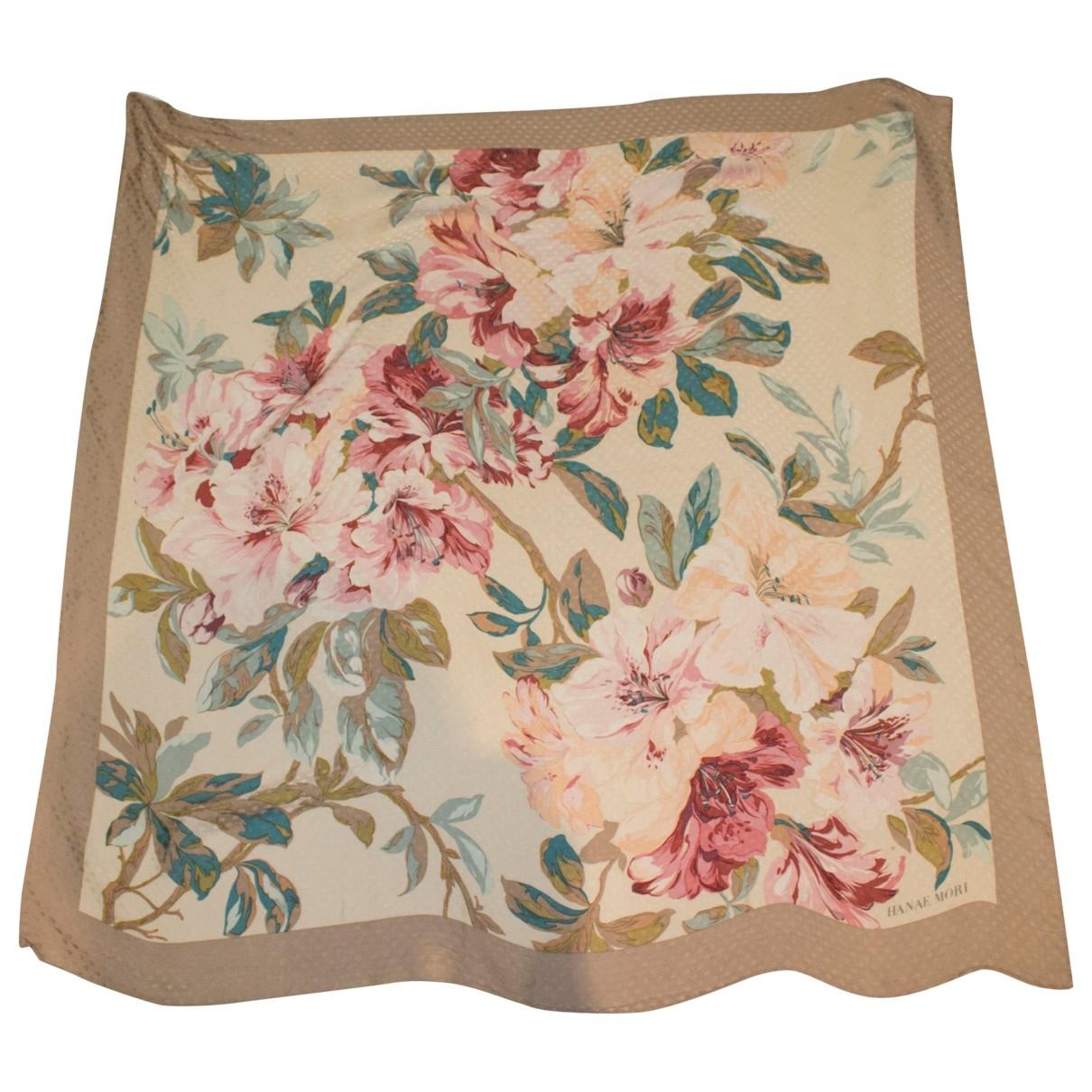 Hanae Mori \N Multicolour Silk scarf for Women \N