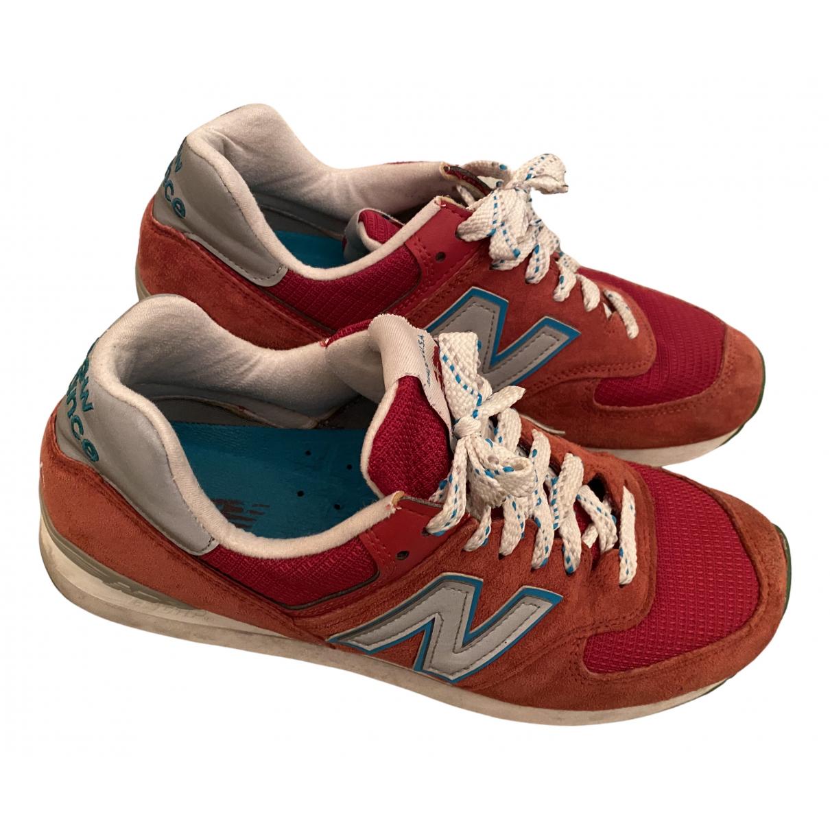 New Balance - Baskets   pour homme en autre - rouge