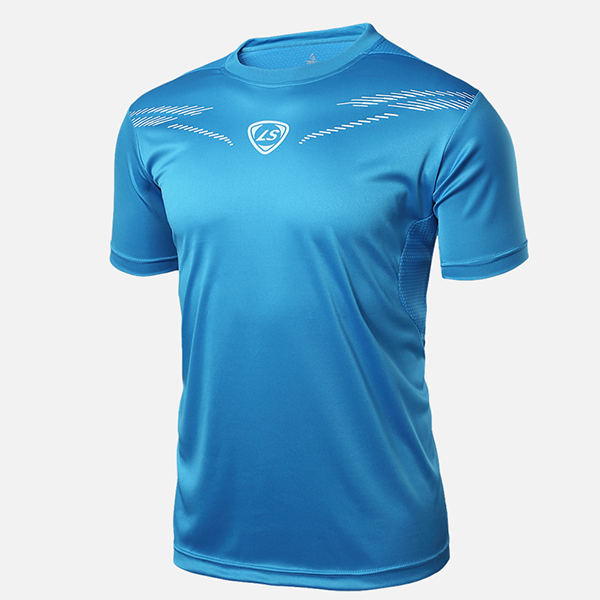 Simple Style Short Sleeve Cycling Jersey Quick Drying Shirt