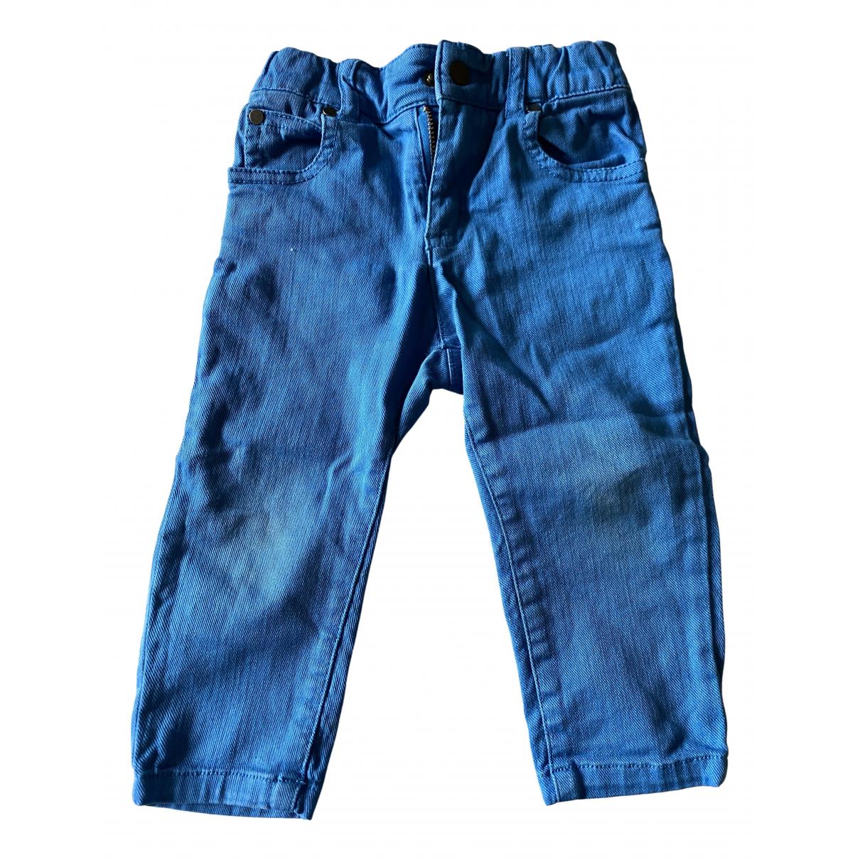 Stella Mccartney Kids - Pantalon   pour enfant en denim - turquoise