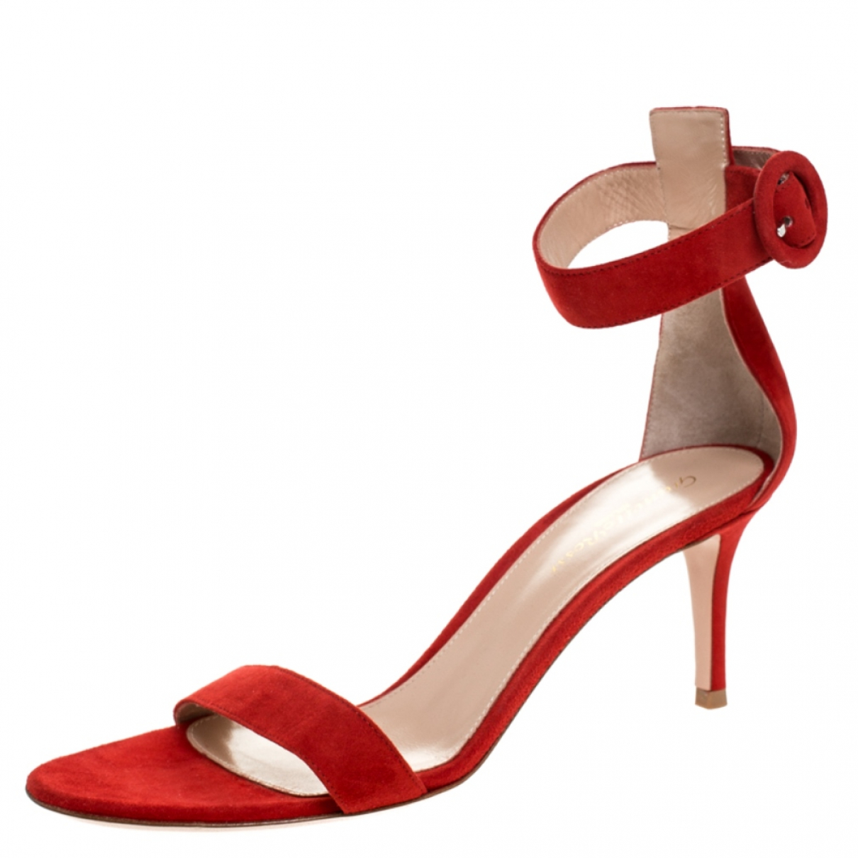 Gianvito Rossi \N Red Leather Sandals for Women 6.5 US