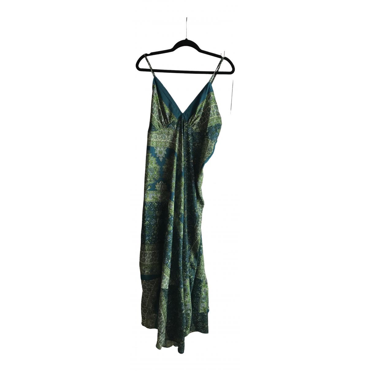 Alice & Olivia - Robe   pour femme en soie - multicolore