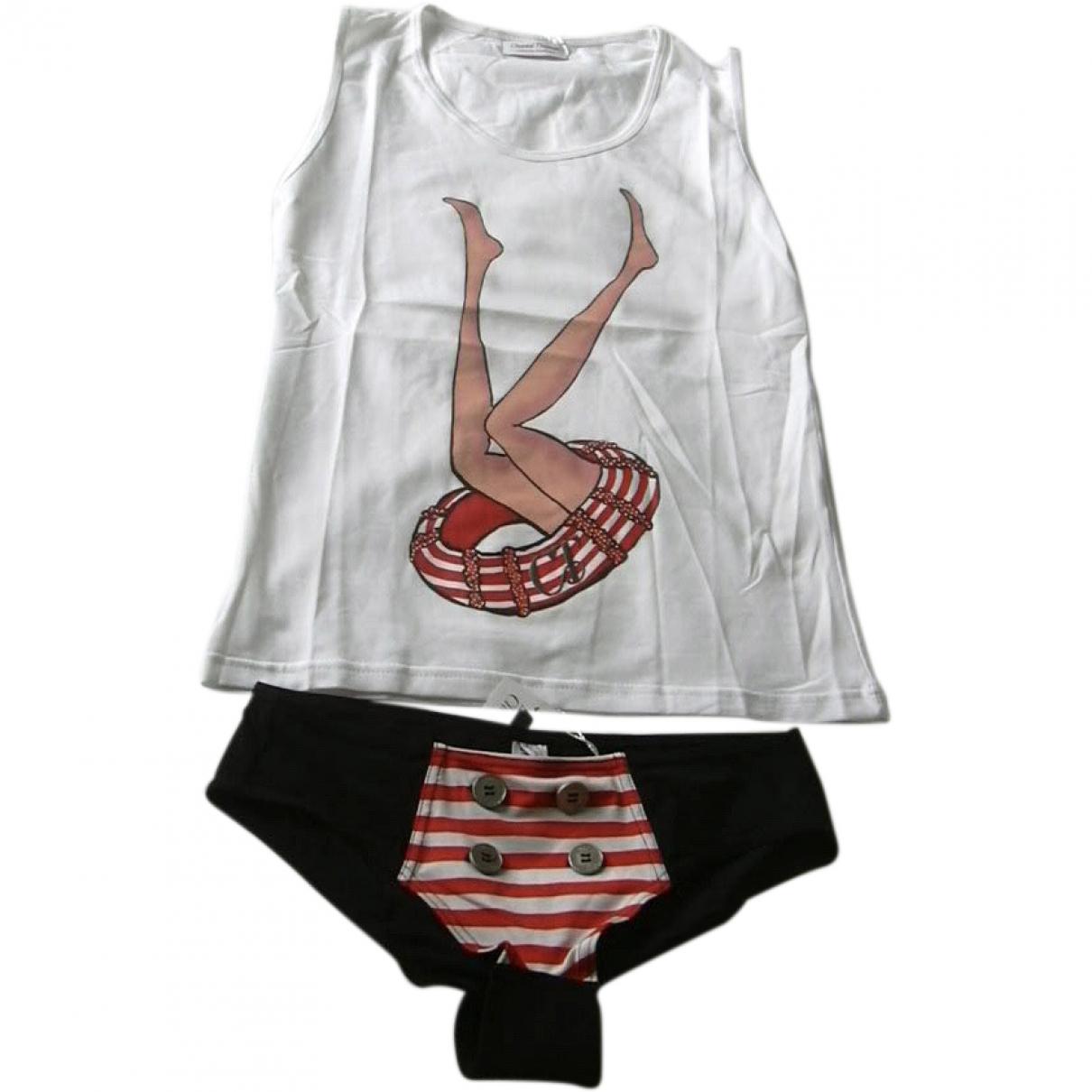 Chantal Thomass \N Multicolour Cotton - elasthane Swimwear for Women \N