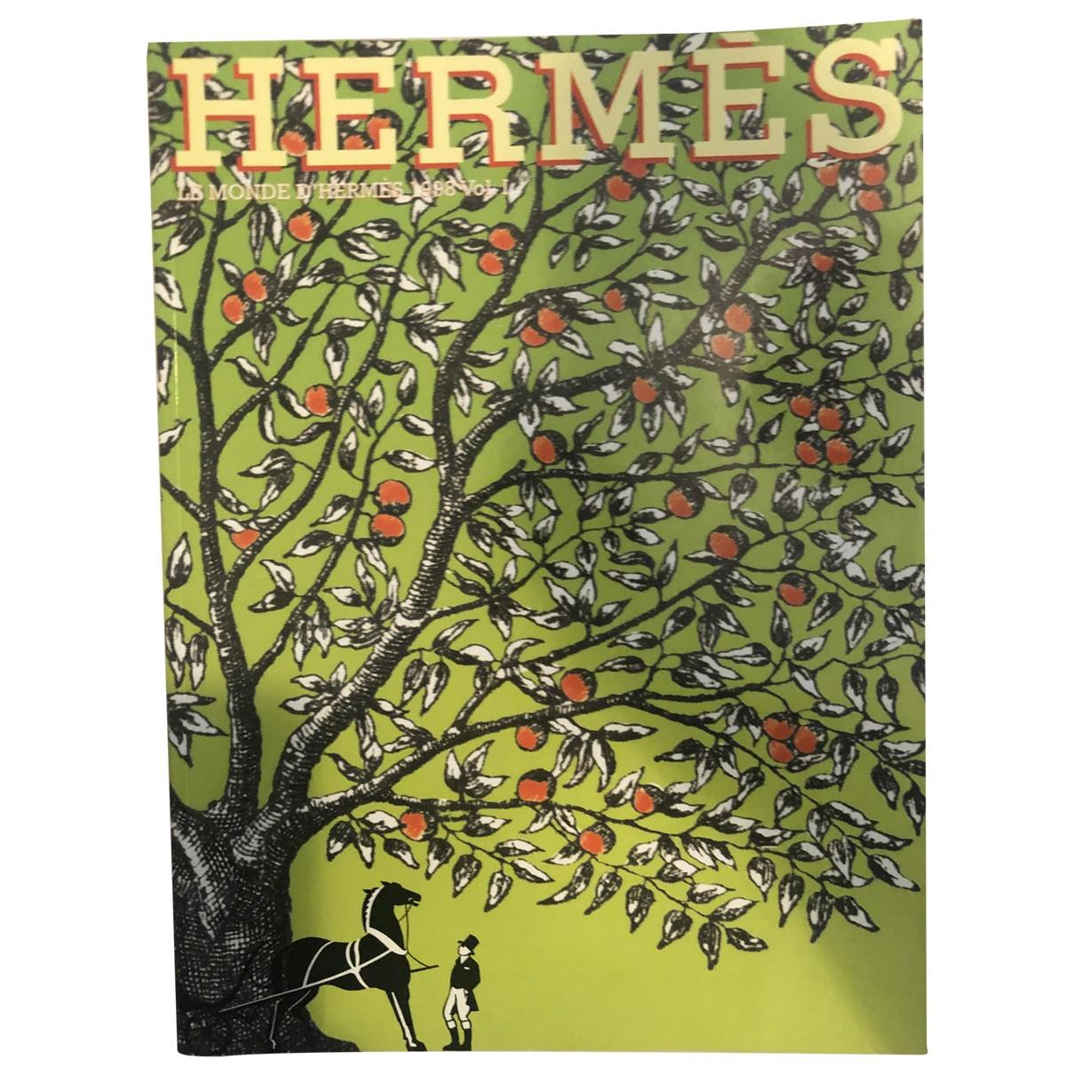 Hermes \N Mode in  Bunt Baumwolle