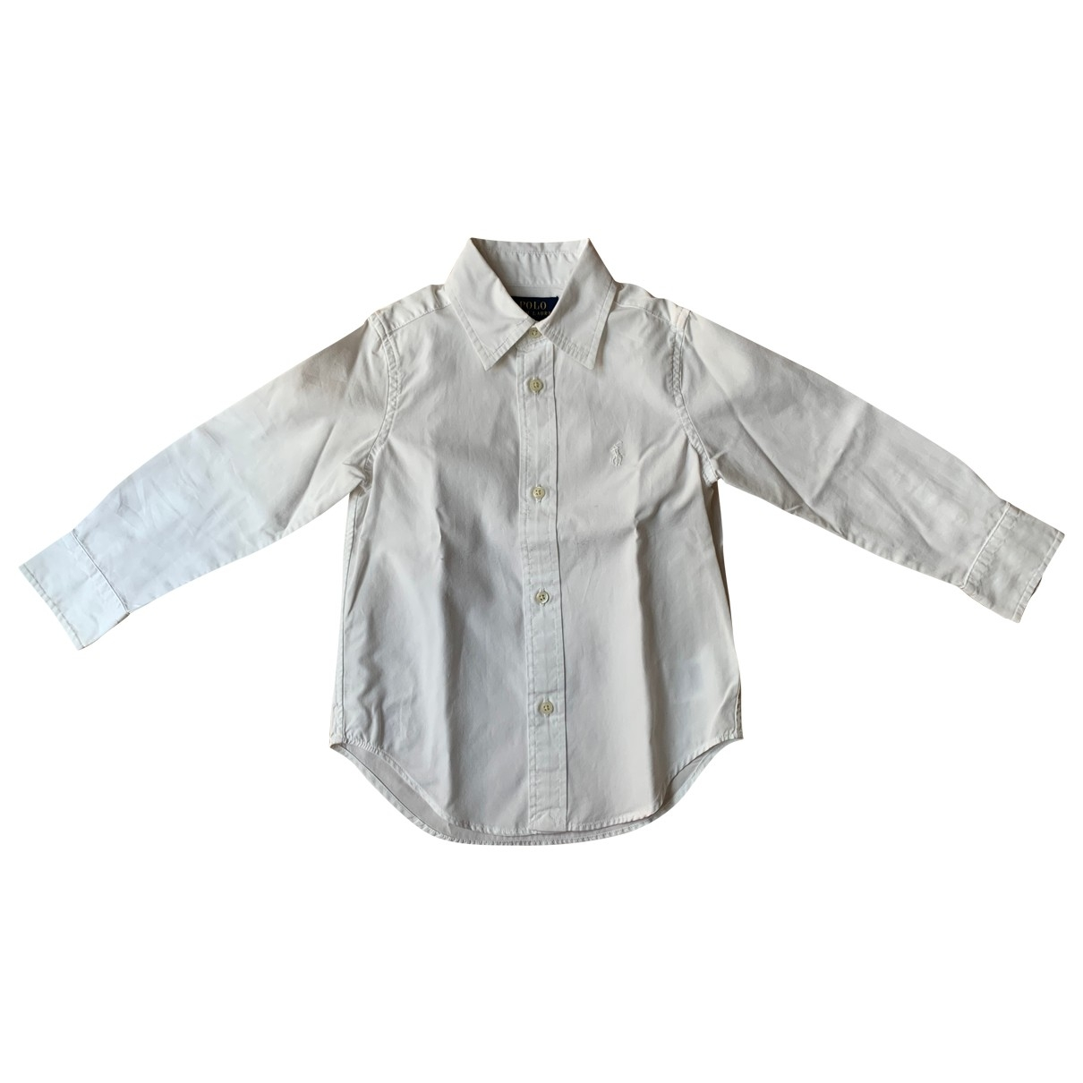 Polo Ralph Lauren \N White Cotton  top for Kids 3 years - up to 98cm FR