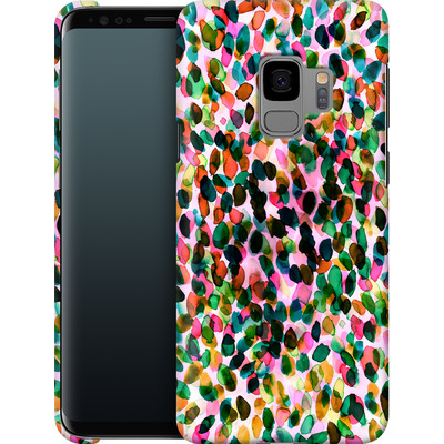 Samsung Galaxy S9 Smartphone Huelle - Rainbow Drizzle von Amy Sia