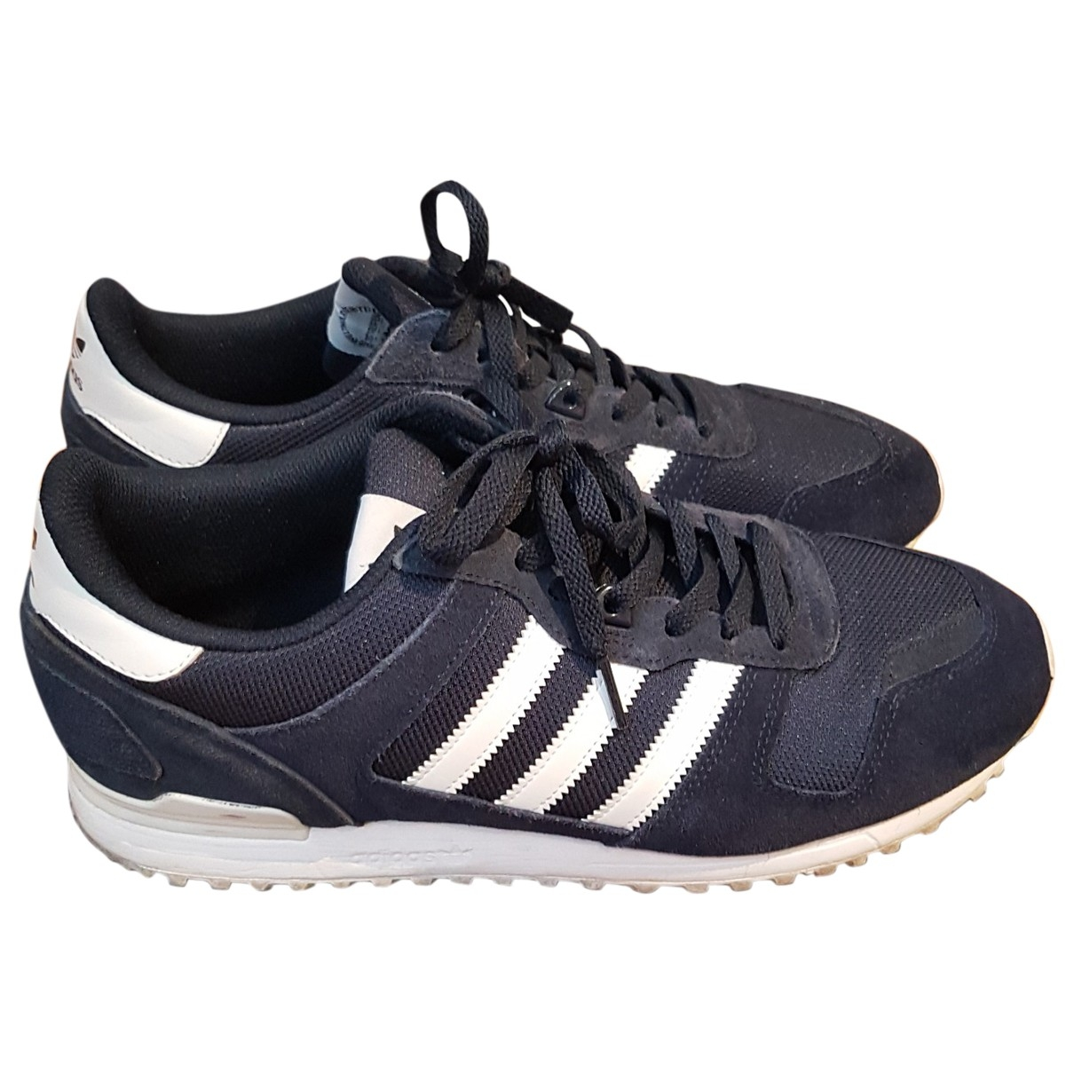 Adidas - Baskets ZX pour homme en suede - bleu