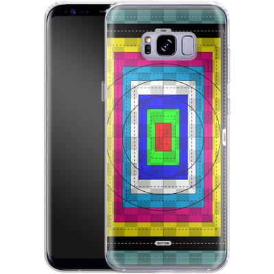 Samsung Galaxy S8 Plus Silikon Handyhuelle - Test Case von caseable Designs