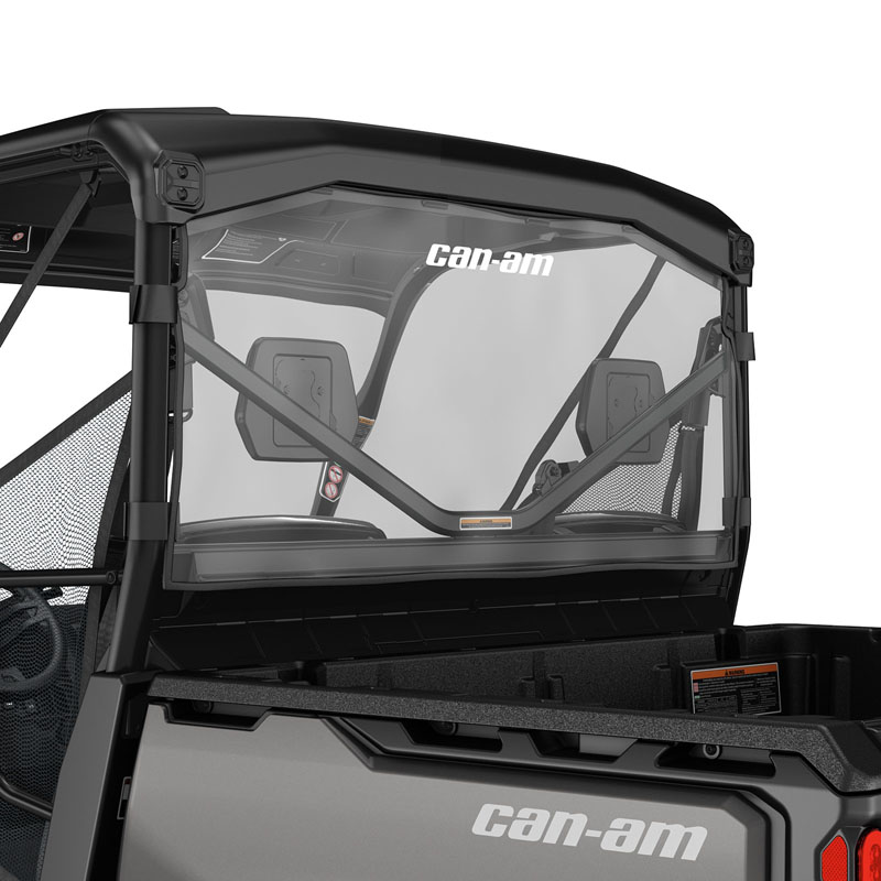 Can-Am Soft Rear Window for Defender, Defender MAX