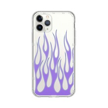 1pc Fire Pattern iPhone Case