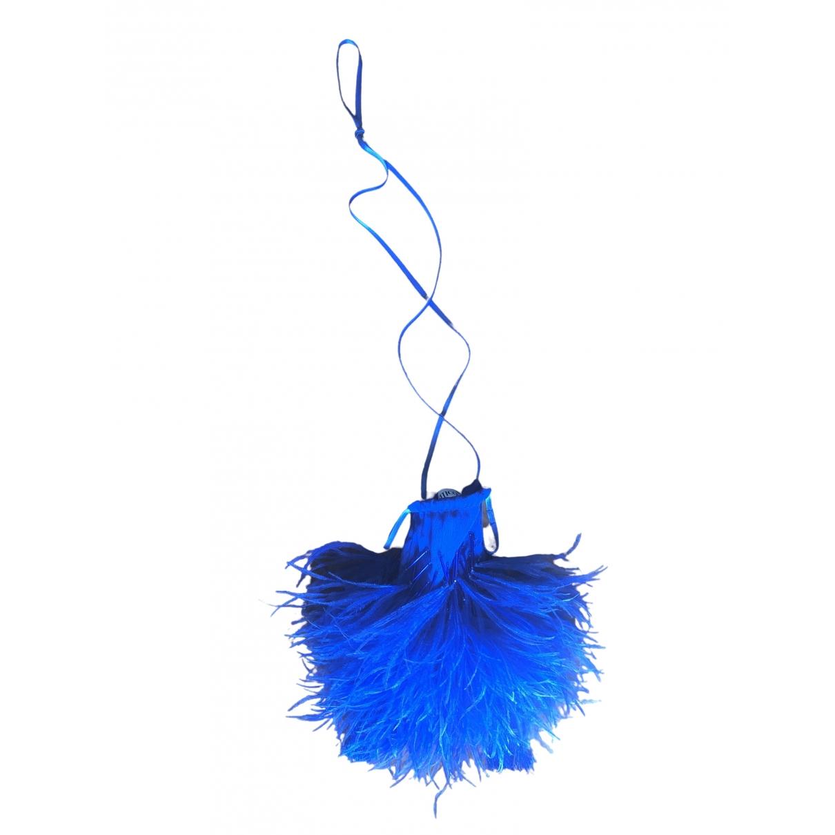 Attico \N Blue handbag for Women \N