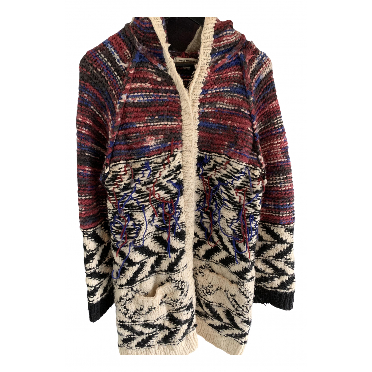 Isabel Marant Pour H&m \N Pullover, StrickJacke in  Bunt Wolle