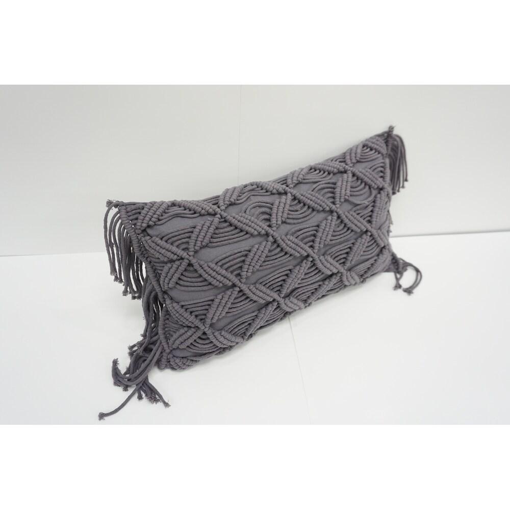 Markham Cotton Throw Pillow (Polyester - Single - Accent)