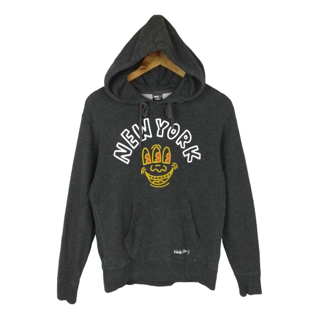 Keith Haring \N Grey Cotton Knitwear & Sweatshirts for Men S International