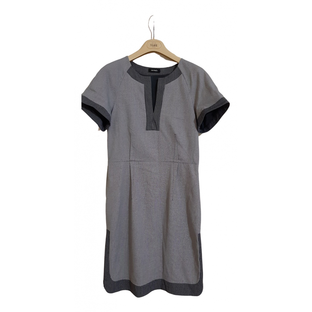 Max & Co N Grey dress for Women 46 IT