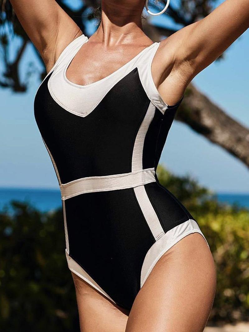 Ericdress One Piece Sexy Swimwear
